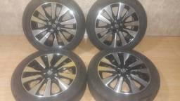 Jogo de roda aro17 original da Nissan