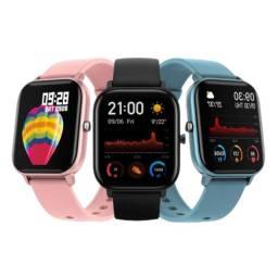 Smartwatch/Relógio Colmi P8 Esportivo/ Fitness com Frequência Cardíaca/ Tela Touch IPX7