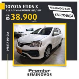TOYOTA ETIOS X 1.3 FLEX 16V 4P MANUAL
