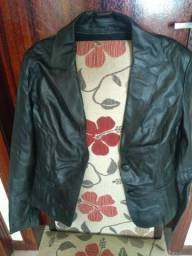 Casacos de couro legítimo jaquetas blazer