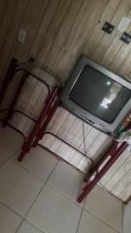 Rack e tv 29 polegadas