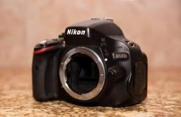 Câmera Nikon DSLR D5100 + lente Tamron 17-50 2.8