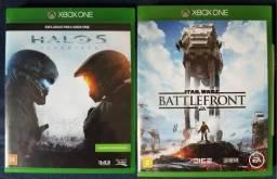 Jogos Xbox One - Halo 5 e Star Wars Battlefront - Somente Venda! comprar usado  Itajaí