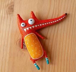 Boneco toy art raposinha jasper
