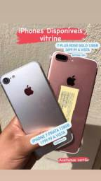 Vendo iPhone 7 plus 128 GB e outro 7 128 GB