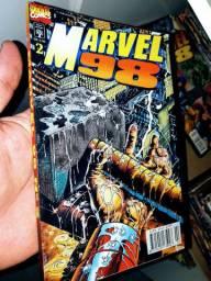 Marvel 98 número 2 hq editora abril