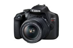 Camera Canon dslr eos rebelL T6 com lente 18-55 MM