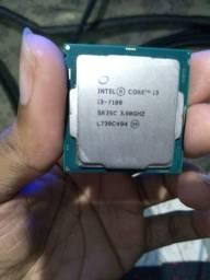 Vendo processador core i3 7100