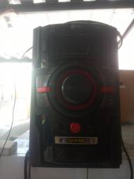 Som mini sistem LG 120w rms usb mp3