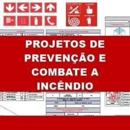 Projeto de proteção de combate a incêndio ( O menor preço de SC )