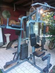Estação de musculação completa