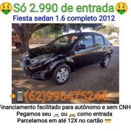 Título do anúncio: Fiesta sedan 1.6  2012