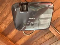 Título do anúncio: Projetor Epson + telão