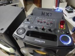Título do anúncio: Caixas de som Philips NX7 (Defeito na Placa)