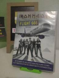 Dvd Iron Maiden Flight 666 Duplo Impecável