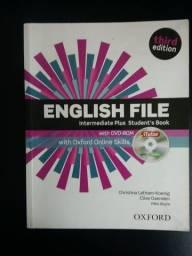 Livro de Inglês  English File Intermediate Plus, 3° edição -Student book