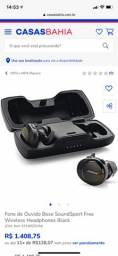 Título do anúncio: Fone de Ouvido Bose SoundSport Free Wireless Headphones Black