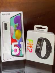 Samsung A51 128gb + Fit2