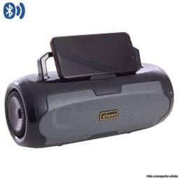 Caixa De Som Portátil  Box Led Bluetooth Rádio FM USB