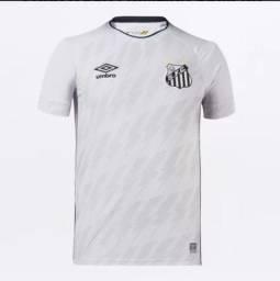 Título do anúncio: Camisa santos modelo 2021/2022 sem número tamanho M ou G