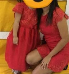 Título do anúncio: Vestido social mãe e filha