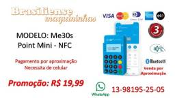Título do anúncio: Maquineta de cartão de débito e crédito