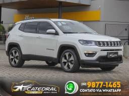 Jeep COMPASS LONGITUDE 2.0 4x2 Flex 16V Aut. 2018 *Novíssimo* Aceito Troca*