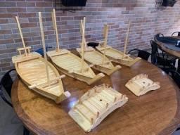 Título do anúncio: Barcas para comida japonesa