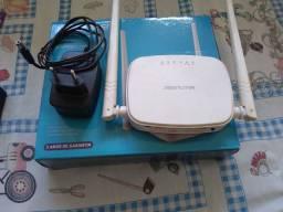 Roteador Multilaser 2 antenas 300 mbps é bivolt