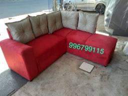 Título do anúncio: sofá de canto novo