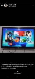Título do anúncio: LG 42 COM BOX TV