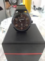 Grande relógio Mondaine semi nova silicone original