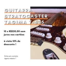 Título do anúncio: Guitarra Stratocaster Tagima T-635
