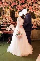 Título do anúncio: Vendo Vestido de Noiva Dayara Oliveira