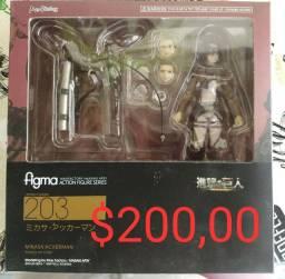 Figma Mikasa Ataque de Titãs