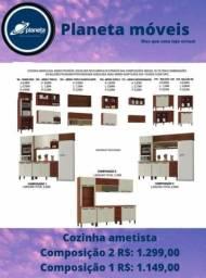 Título do anúncio: Armário Composição 2 Entrega/Grátis