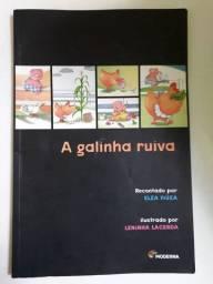 Livro A Galinha Ruiva.
