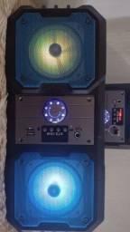 Caixa de som controle