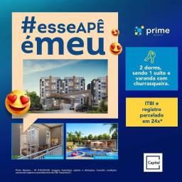 Título do anúncio: DF) Prime Mosaico -2 qts com varanda gourmet-Use seu FGTS