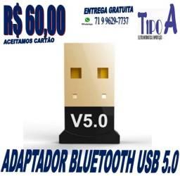 Título do anúncio: Mini Adaptador Usb Bluetooth 5.0