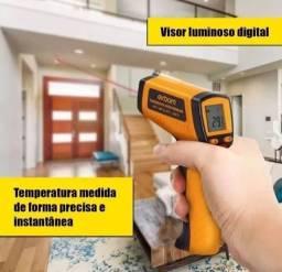 Título do anúncio: Termômetro Digital Infravermelho Industrial<br><br>