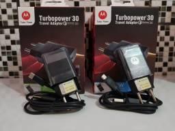 Carregador turbo Motorola original com garantia