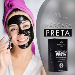 Máscara Preta Removedora de Cravos e Espinhas Amakha Paris (CONTÉM ARGILA)