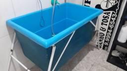 Título do anúncio: Banheira banho e tosa profissional