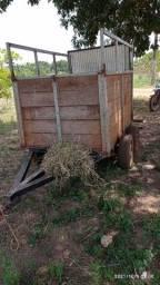 Título do anúncio: Reboque/ carretinha pra cavalos/ trailer..
