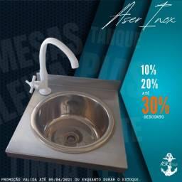 Título do anúncio: Pia Assepsia 100% inox