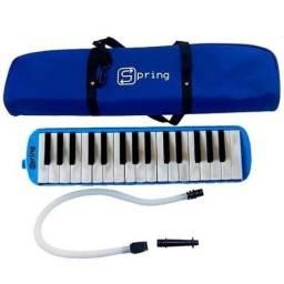 Título do anúncio: Escaleta 32 Teclas Piano Mão Spring Sg32
