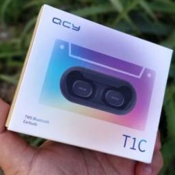 Título do anúncio: Fone de Ouvido QCY T1C TWS Bluetooth 5.0 sem Fio Wi-Fi/Fones de Ouvido Estéreo
