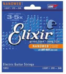 Cordas para guitarra Elixir light /010-046