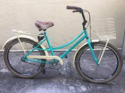 Título do anúncio: Bicicleta retrô NOVÍSSIMA aro 26 universal
